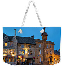 Weekender Tote Bag featuring the photograph Stow On The Wold - Twilight by Brian Jannsen