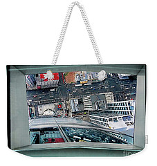 Straight Down Skyline 2 Weekender Tote Bag
