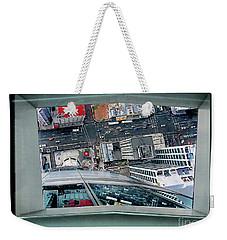 Straight Down Skyline 2 Weekender Tote Bag