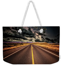 Weekender Tote Bag featuring the photograph Straight Lines  ... by Chuck Caramella