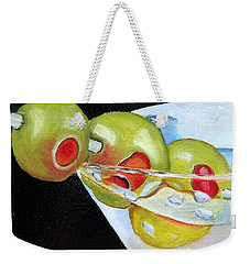 Straight Up - Sold Weekender Tote Bag by Susan Dehlinger