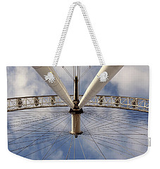 Straight Up London Eye Weekender Tote Bag