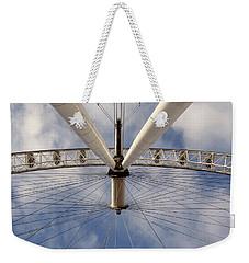 Straight Up London Eye Weekender Tote Bag