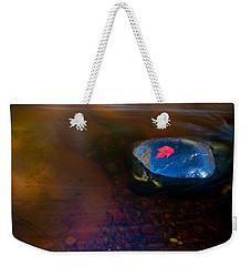 Stranded Leaf Weekender Tote Bag