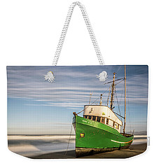 Stranded On The Beach Weekender Tote Bag by Jon Glaser