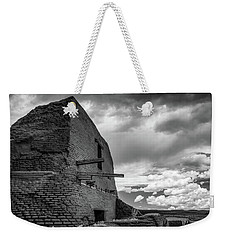 Weekender Tote Bag featuring the photograph Strange Architecture by James Barber