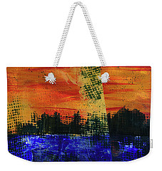 Strange City Weekender Tote Bag
