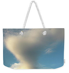 Strange Cloudform Weekender Tote Bag