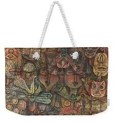 Strange Garden Weekender Tote Bag by Paul Klee