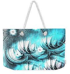 Weekender Tote Bag featuring the digital art Strange Things by Anastasiya Malakhova