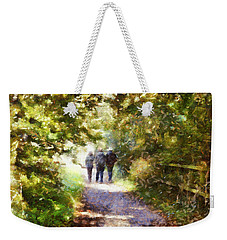 Strangers On A Footpath / In To The Light Weekender Tote Bag