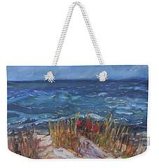 Strangers On The Shore Weekender Tote Bag