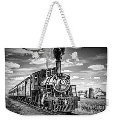 Weekender Tote Bag featuring the photograph Strasburg Canadian National 89 by Nick Zelinsky