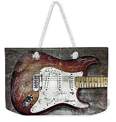 Strat Guitar Fantasy Weekender Tote Bag by Mal Bray