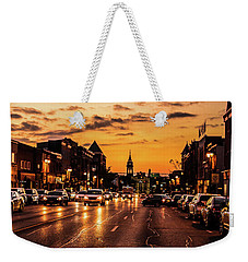 Stratford Main Drag At Dusk Weekender Tote Bag