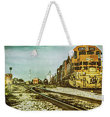 Stratford Rail Yard 2016 Weekender Tote Bag