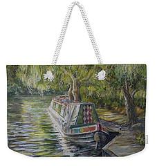 Stratford Upon Avon Barge Weekender Tote Bag
