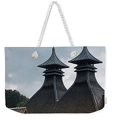Weekender Tote Bag featuring the photograph Strathisla Whisky Distillery Scotland #2 by Jan Bickerton