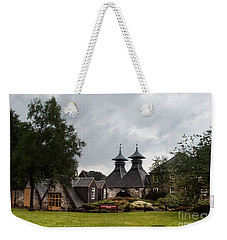 Weekender Tote Bag featuring the photograph Strathisla Whisky Distillery Scotland #3 by Jan Bickerton
