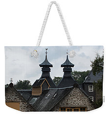 Weekender Tote Bag featuring the photograph Strathisla Whisky Distillery Scotland #4 by Jan Bickerton