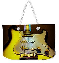 Stratocaster Lemon Burst Glow Neck Series Weekender Tote Bag