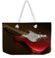 Stratocaster On A Golden Floor Weekender Tote Bag
