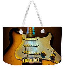 Stratocaster Tobacco Burst Glow Neck Series  Weekender Tote Bag
