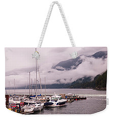 Stratus Clouds Over Horseshoe Bay Weekender Tote Bag