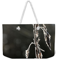 Straw In Backlight Weekender Tote Bag