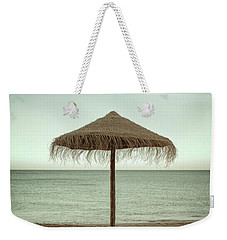 Weekender Tote Bag featuring the photograph Straw Shader by Carlos Caetano