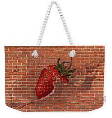 Strawberries And Cream Amazing Graffiti Weekender Tote Bag