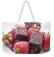 Strawberry Delight Weekender Tote Bag
