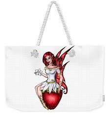Strawberry Fairy Drawing Weekender Tote Bag