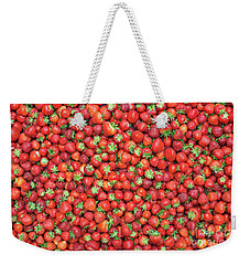 Strawberry Fest Weekender Tote Bag