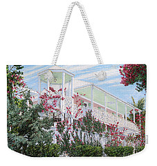 Strawberry House Weekender Tote Bag