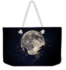 Strawberry Moon Weekender Tote Bag