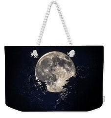 Strawberry Moon Weekender Tote Bag
