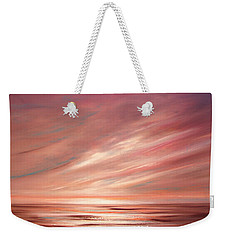 Strawberry Sky Sunset Weekender Tote Bag