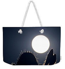 Strawberry Solstice Moon Weekender Tote Bag