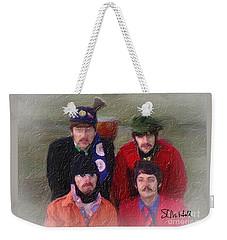 Strawberry Time Weekender Tote Bag