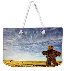 Strawman On The Prairies Weekender Tote Bag