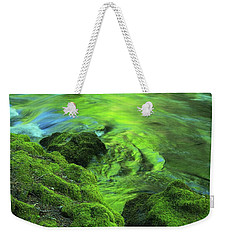 Stream Above Whitehorse Falls Weekender Tote Bag
