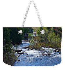 Stream In Spring Weekender Tote Bag by David Porteus