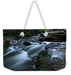 Stream Over Rocks Weekender Tote Bag by Charline Xia