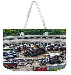 Streamliners At Spencer Weekender Tote Bag by John Black