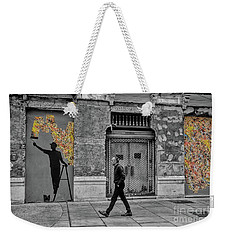 Street Art In Malaga Spain Weekender Tote Bag