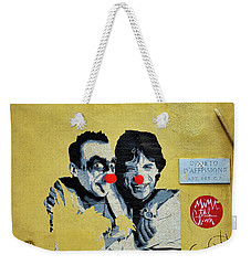 Street Art In The Trastevere Neighborhood In Rome Italy Weekender Tote Bag