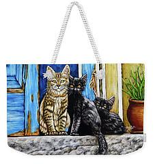 Street Cats Weekender Tote Bag