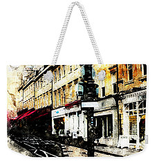 street in Bath Weekender Tote Bag