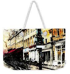 street in Bath Weekender Tote Bag